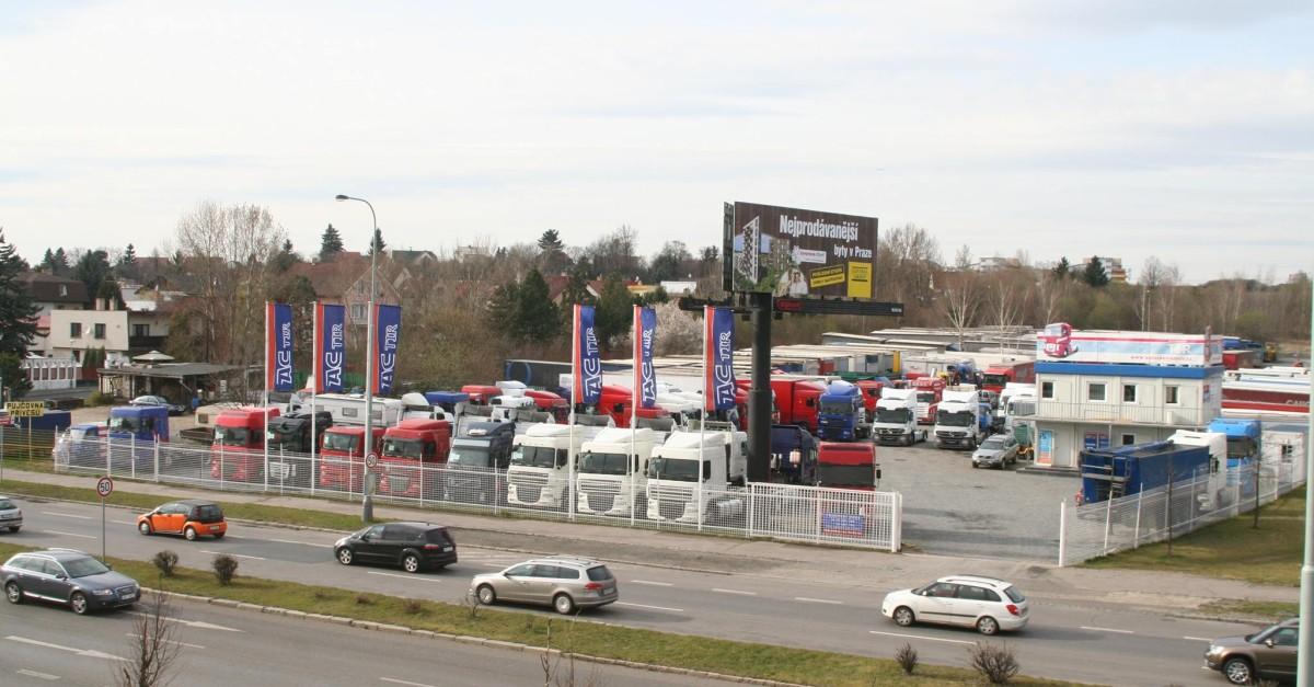 Kam pro ojetý nákladní auto #Automoto